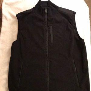 Banana Republic men's black vest
